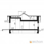 Dom w nerinach ver. 2 – 83,23 m² – Archon