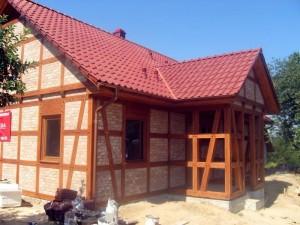 Maisons de style près de Cracovie (Pologne)